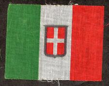 Bandiera Italiana Sabauda in Cotone - Cm. 11,5 X 9,00