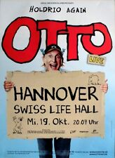 Otto - 2016-concert affiche-holdrio Again-tourposter-Hanovre