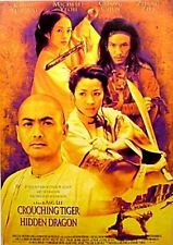 CROUCHING TIGER HIDDEN DRAGON MOVIE POSTER New 24x36