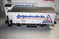 Märklin 5831 2-Achser Bierwagen Schwabenbräu Würtemberg Spur 1 OVP