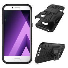 Hybrid Case 2teilig Outdoor Schwarz Tasche Hülle für Samsung Galaxy A5 2017 A520