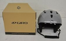 Giro S4 Ski/Snowboard Helmet Gray XL 59-60.5cm NEW MISSING PADDING Fast Shipping