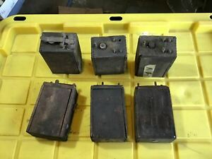 Ford Model T battery box lot of 6