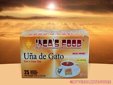 Uña de Gato Tea Bags / Cat's Claw - 25 Tea Bags -  Free Shipping