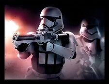 STAR WARS OFFICIAL 30x40cm FRAMED PRINT,'STORMTROOPER GUNS ', NEW.