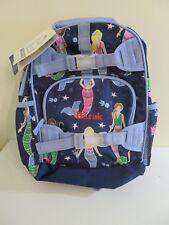 POTTERY BARN KIDS MACKENZIE SMALL BACKPACK SCHOOL BAG MONOGRAMMED BARAK MERMAIDS
