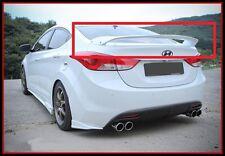 SPEC-GT Rear Trunk Wing Spoiler (Fit: Hyundai Elantra Avante MD 2011 - 2015)