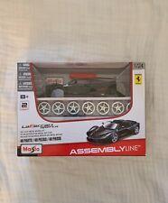 Maisto 1:24 La Ferrari aperta Diecast Assembly Line KIT Model Car New