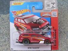 Hot Wheels 2015 # 153/250 Nitro Tailgater rojo-naranja Hw Race Funda P nueva fundición