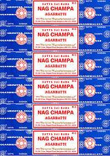 6 Box 40gm Each Satya Sai Baba Nag Champa Agarbatti 240 Gram Incense 2017 Series