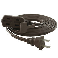 Male Plug NEMA 5-15R Conntek 24161-036 I-Ring Extension Cord 3ft SJT 16//3 U.S