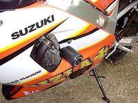 R&G RACING Crash Protector - Suzuki GSXR600 2000-2003  **WHITE**