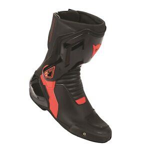 Motorrad Stiefel Dainese Nexus Out Boots schwarz/fluo-rot Gr. 42