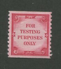 1970 United States For Testing Purposes Only Test Stamp #Td108 Mint Never Hinged