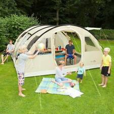 Polyester Single Skin Camping Tents 2 Sleeping Areas