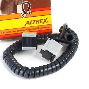 """^ Altrex Olympus Duo Sync Cable Cord for """"N"""" Series Cameras OM1n etc"""