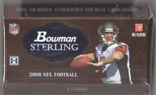 1-2008 BOWMAN STERLING NFL R/C AUTOGRAPH'S,JERSEY,SERIAL #ED HOBBY PACK- RYAN?