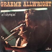 DOUBLE ALBUM 33 TOURS GRAEME ALLWRIGHT A L'OLYMPIA