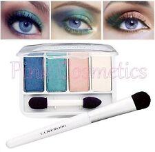 COVER GIRL Exact Eyelights Eye Brightening EYESHADOW Quad 710 Radiant Blues