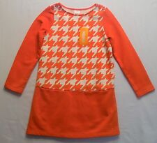 "NWT Gymoree ""Fairy Tale Forest"" Mod Houndstooth Print Tunic Dress, 6"