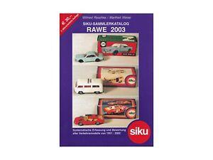 RAWE 2003 (Siku Sammler Katalog) - 0001