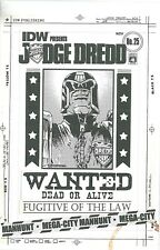 IDW Judge Dredd 25 Bagged and Boarded