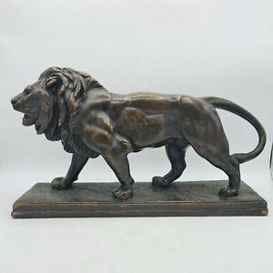 Austin Sculpture Barye Walking Lion