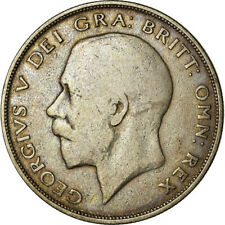 [#783505] Coin, Great Britain, George V, 1/2 Crown, 1921, VF(20-25), Silver