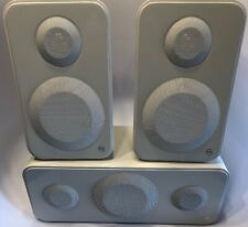Monitor Audio Bundle: (1) Vector 20 and (2) Vector 10 Speakers Piano White