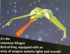 Generations Klingon Bird of Prey WORKS & Clean Star Trek Playmates Sound Mint 94