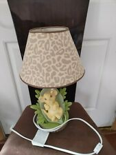 New listing Lion King Lamp And Shade Disney Baby Simba Infant Nursery Excellent Condition!
