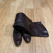 COSTUME NATIONAL STUNNING ABOVE KNEES WOMEN BOOTS BROWN 7.5 GREAT CONDITION