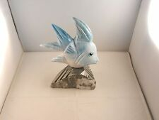 """ONIX FISH WITH ROCK STAND """"NEW"""" MADE IN MEXICO 9"""" X 8"""""""