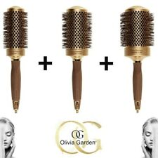 olivia garden hair brushes nanothermic ceramic + ion round thermal complete kit