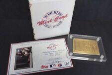 1992 TOPPS HIGHLAND MINT FRANK THOMAS BRONZE MINT CARD COA #3455/5000
