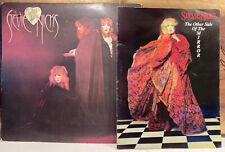 Stevie Nicks 1989 Other Side Of The Mirror Tour Concert Program Book & Wild Lp