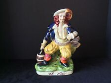 WILL WATCH STAFFORDSHIRE STYLE MALE FIGURINE STATUTE SCULPTURE PIRATE?