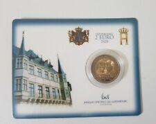 2 Euro Commémorative Luxembourg 2020 BU Prince Henri Pont de Selve