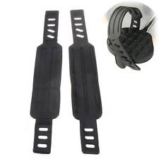 Pair Generic Pedal Straps Belts For Most Schwinn & More Stationary Exercise Bike