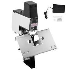 Flat+Saddle Stitching Electric Auto Rapid Stapler Binder Book Binding Machine CA