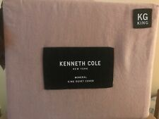 Kenneth Cole Mineral King Duvet Cover in Blush
