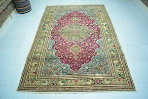 Antique Rug 4.7x7.3,Turkish Rug,Anatolian Rug,Wool Rug,Old Rug,Bohemian Rug.
