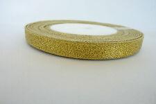 15mm Gold /& Silver Ribbon Net Type Good for Bows Sheer Metallic Buy 1 2 4 8m