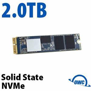 OWC 2TB Aura Pro X2 SSD Drive NVMe Apple Mac Pro 2013 Macbook Air / Pro Retina