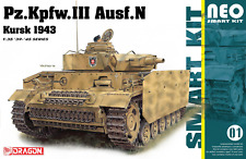 1/35 DRAGON PZ.KPFW.III AUSF.N KURSK 1943 Neo Smart Kit #6559
