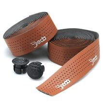 Deda Elementi Mistral Handlebar Tape BROWN Perforated Synthetic Faux Leather NEW