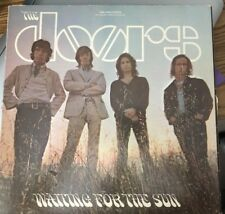 THE DOORS Waiting For The Sun Lp1968  Tan Elektra Label Jim Morrison