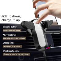 Wireless Charging Universal Smartphone Car Air Vent Mount Holder Cradle