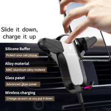 Wireless Charging Universal Smartphone Car Air Vent Mount Holder Cradle