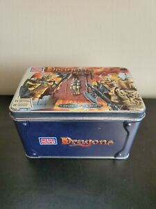 Draigar War Chest Dragons Krystal Wars Mega Bloks #9866 (RARE)
